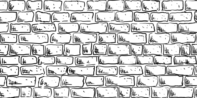 Image result for how to draw stone bricks