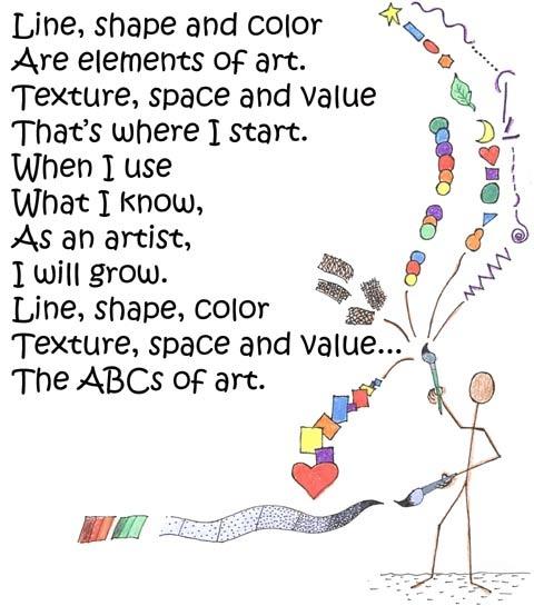 Elements Of Visual Arts Line : Elements of art poem menlo park s studio