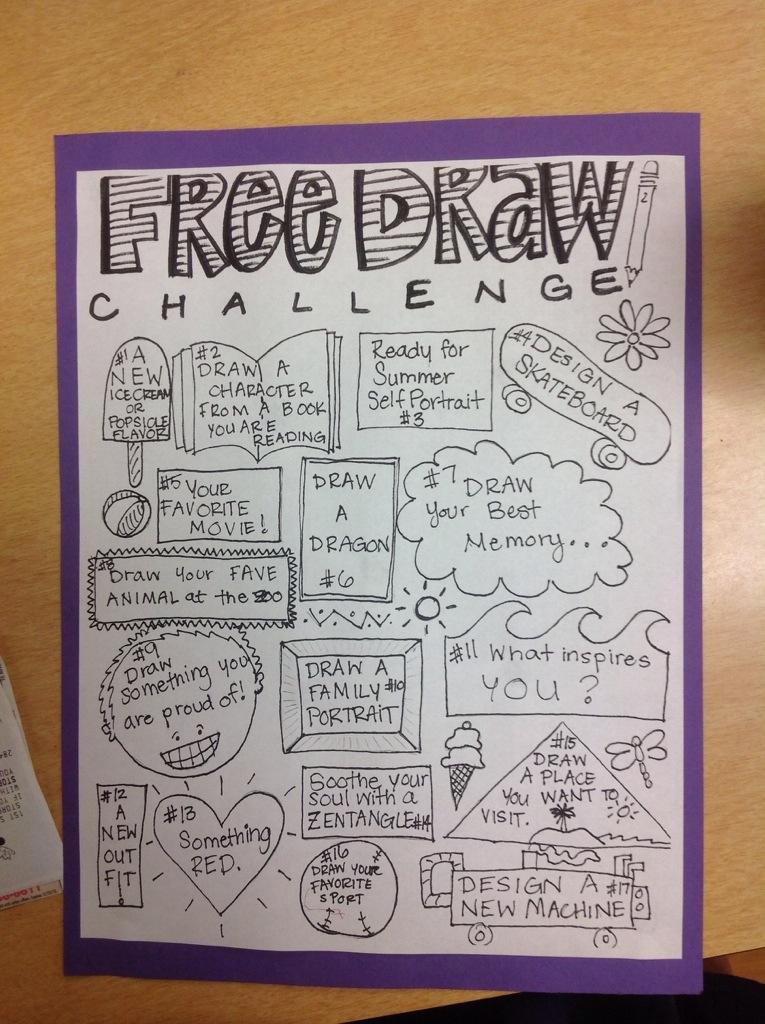Free Draw Challenge Menlo Park S Art Studio