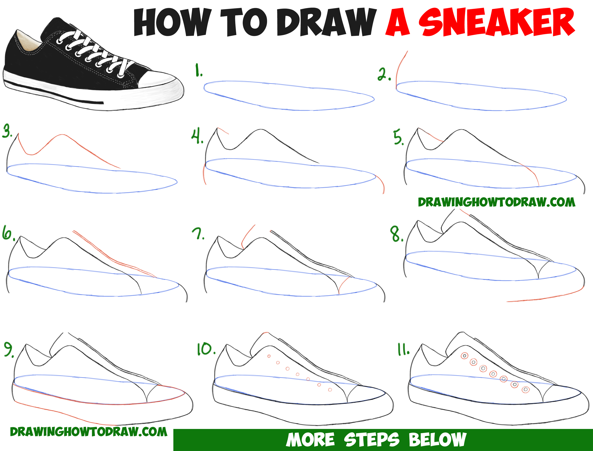 3d22d3ed2c86 how-to-draw-sneakers-converse-keds-shoes-easy-step-by-step-drawing ...