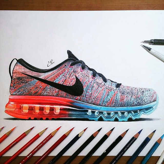 Nike Flyknit Max Men's Running Shoes Road Running