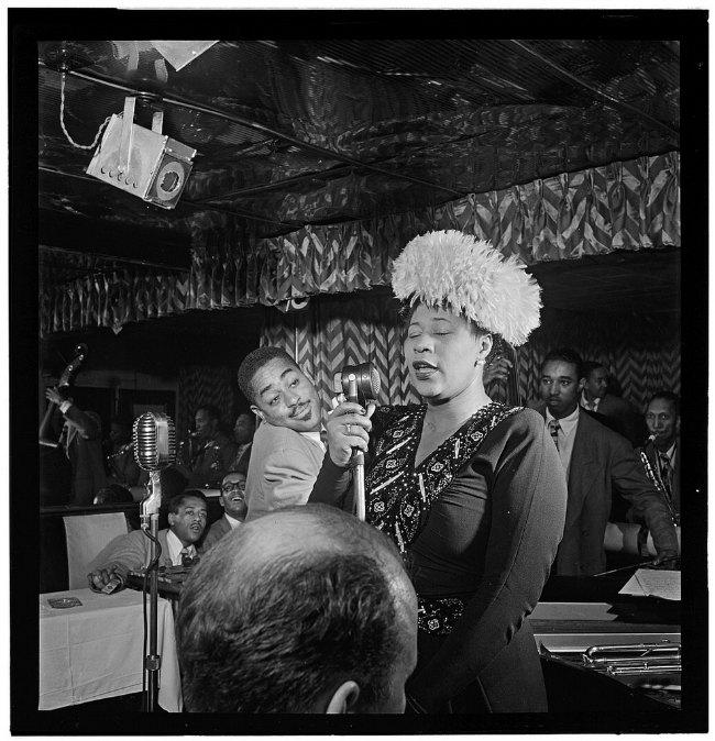 Portrait-of-Ella-Fitzgerald-Dizzy-Gillespie