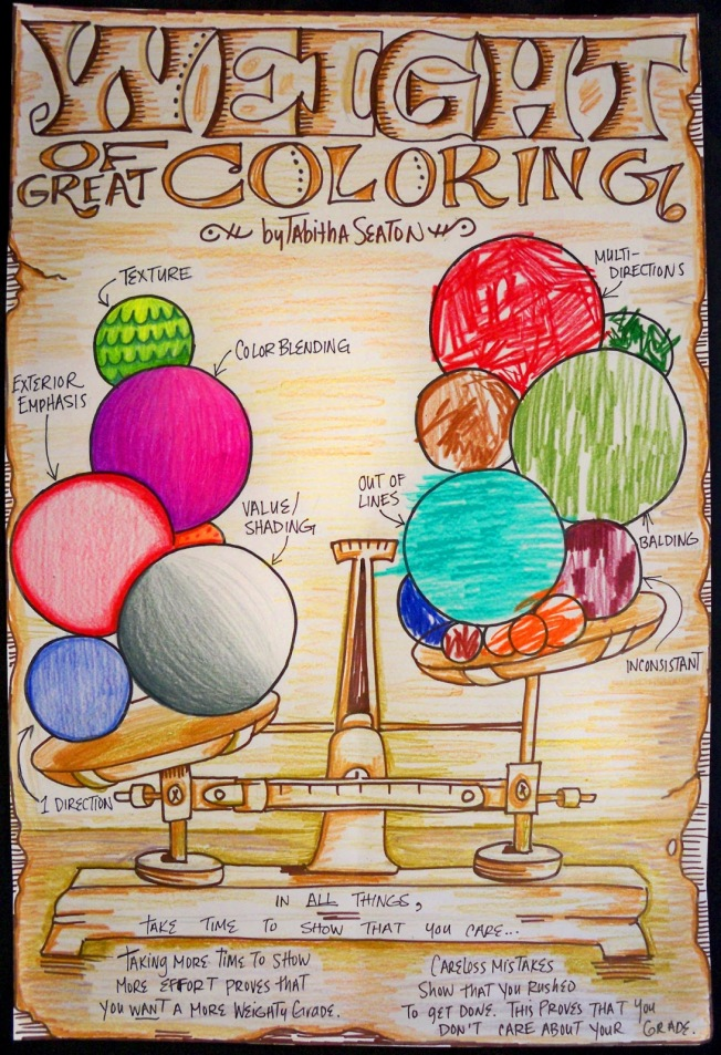 weight of great coloring by tabitha seaton