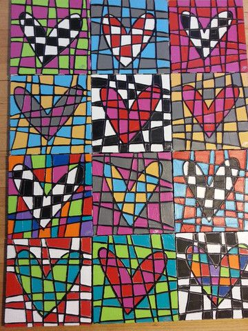 Happy hearts by Jenny Murphy