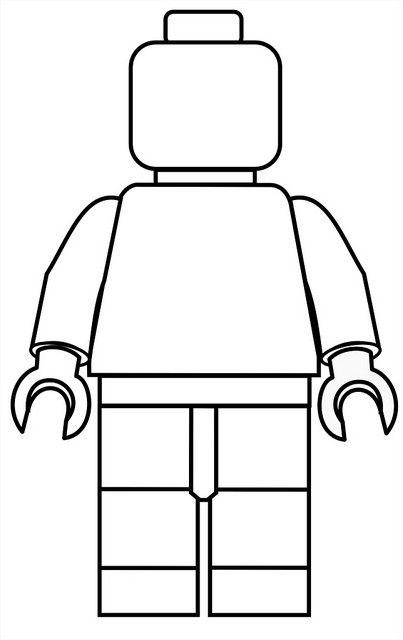 LEGO PERSON BLANK