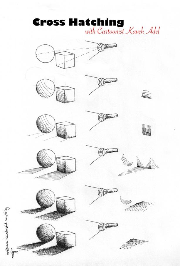 Cartooning-Tutorial-Cross-hatching-2011-by