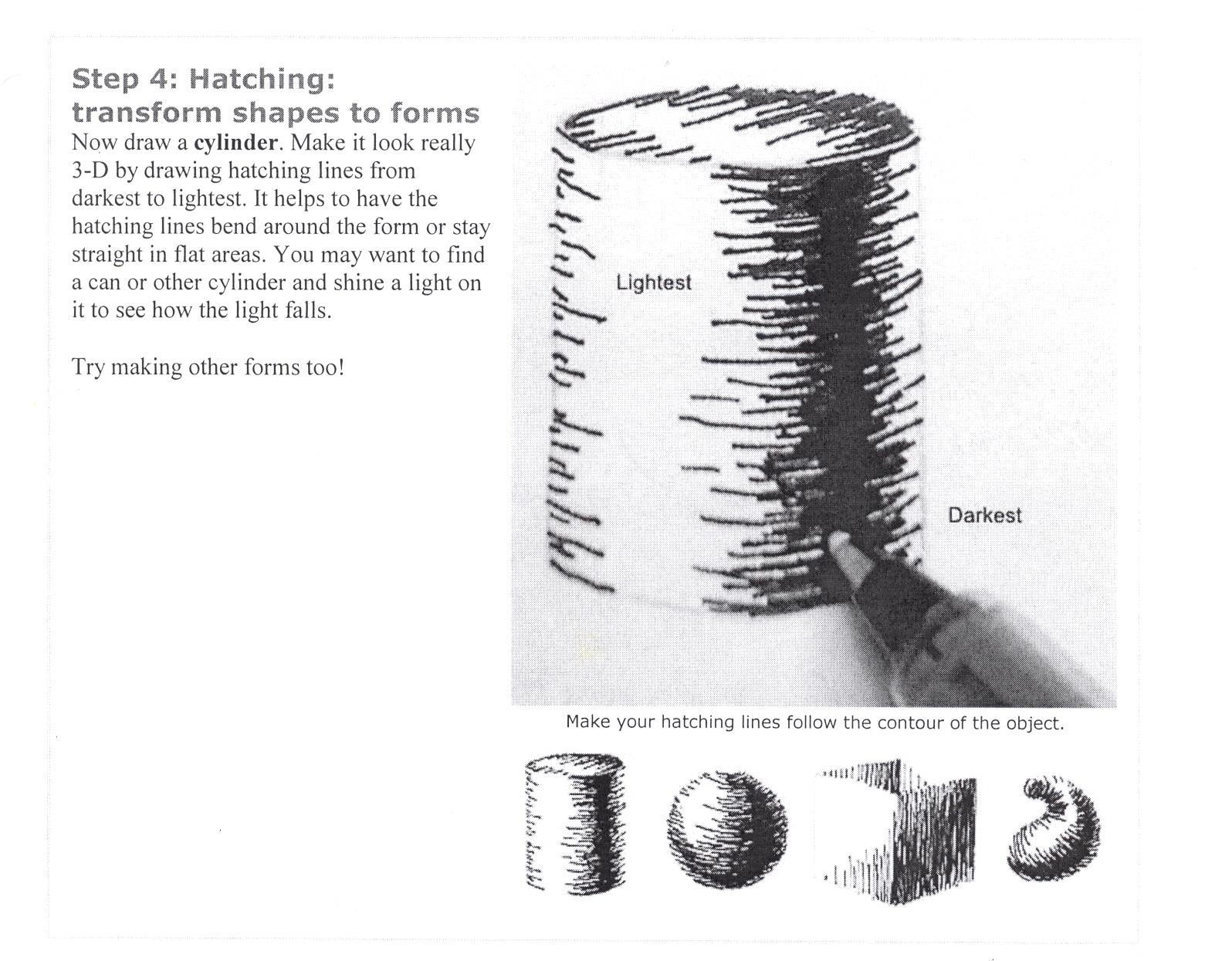 Hatching Techniques Menlo Park S Art Studio