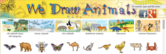 We Draw Animals