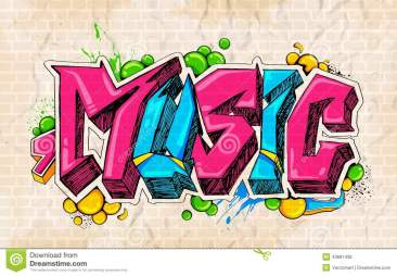 graffiti-style-music-background-illustration-43681436